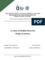 La Haine Di Mathieu Kassovitz