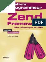 Les Cahiers Du Programmeur Zend Framework