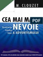 Cea Mai MARE Nevoie - Ron Clouzet