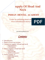 Nerve Supply of Head and Neck (NXPowerLite) / orthodontic courses by Indian dental academy