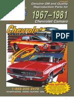 67-81 Camaro