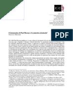 L'ermeneutica di Paul Ricoeur e la semiotica strutturale