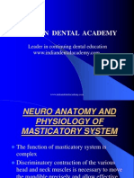 Neuro Anatomy and Physiology of Masticatory System / orthodontic courses by Indian dental academy