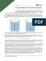 2E P Fisicas Minerales El Peso Especifico de Los Minerales y Su Utilidad