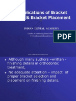 Bracket Selection & Placement / orthodontic courses by Indian dental academy