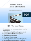 g322 film industry revision