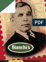Bianchi's Pizzeria Menu