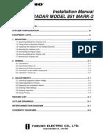 851MK2 Installation Manual