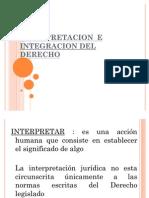 54575830 Interpretacion e Integracion Del Derecho