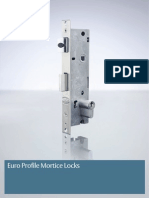 Lockwood Optimum Euro Profile Mortice Locks Catalogue Section