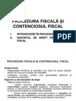 PROCEDURA FISCAL-é - Introducere, Rap Juridic Fiscal