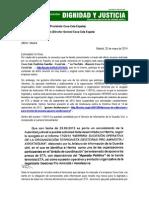 Carta de Víctimas de ETA