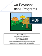down payment assistant programs march 2013