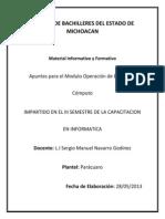 Apuntes Modulo Operacion Del Equipo de Computo
