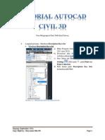 1 Tutorial Autocad Civil 3d Point Data 2