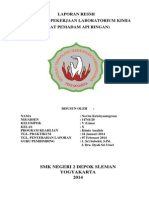 Laporan Alat Pemadam API Ringan (APAR)