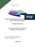 Projecto de Uma Embarcação Com Propulsão Eléctrica e