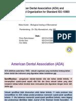 ADA Dan ISO 10993