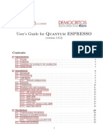 Q-Espresso User Guide