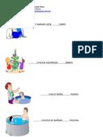 Fichas de Concordancia y Comprensión