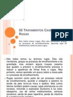 05 Tratamentos Caseiros Para Rugas