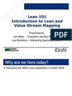 Introduction to Lean and Value Stream Mapping