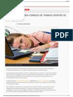 En Francia Prohíben Correos de Trabajo Después de Las 600 P