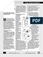 Hinge Design Guide