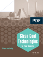Clean Coal Technologies for Power Generation