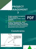 Project Management 3