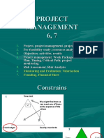 Project Management 6, 7
