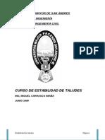 CONFERENCIA TALUDES