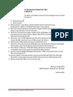 Ketentuan Diskusi Dan Trial Praktikum TFS Likuid Dan Semisolid 2013-2014