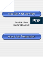 Introduction to MAC OS