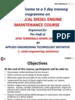 Apm_diesel Generator Maintenace