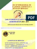 Mística de Servicio 2014