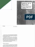 Ingrassia, Franco- Esteticas en La Dispersion