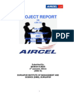 Aircel Project by mann bhagat