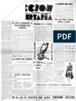 Acción Libertaria, Nº9. Diciembre1934
