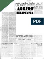 Acción Libertaria, Nº 53. Marzo 1942 (Incompleto)-Fla