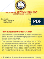 Domestic Sewage Treatment