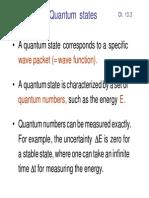 Characterization of quantum states