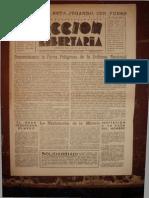 Acción Libertaria, Nº 77. Julio 1944-Fla
