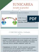 Stefan Oana Andreea - Comunicarea. Concepte Si Practici. Tehnici de Management