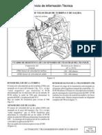 Informacion de Sensores y Diagrama Electrico
