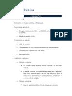 Direito de Família - Adoção.doc