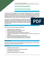 ISCD / AOC - Public Speaking & Presenting Seminar