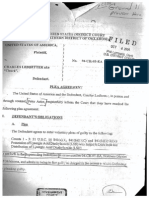"""Charles Ledbetter's Plea Agreement - Roderick """"Rudd"""" Walker LSD Conspiracy Trial"""