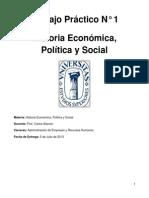 Historia Economica Politica y Social