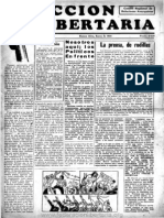 Acción Libertaria, Nº4. Enero 1934